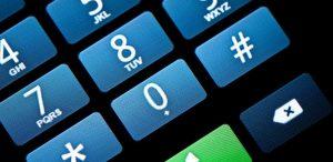 phone tocuhscreen keypad